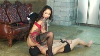 Asian Femdom porn sex