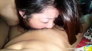 (homemade) Japanese Girl Friend Facefuck Bj